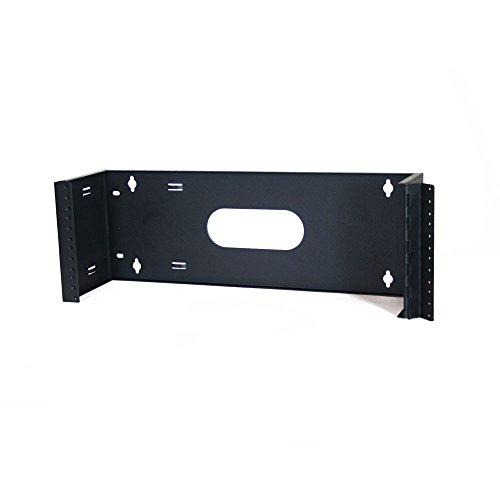 Quest Manufacturing WB19-0106H Wandhalterung, 1 Einheit, 48,3 x 15,2 cm, Schwarz Tiefe: 15,24 cm (6 Zoll) 4U schwarz - Tiefe Rack-einheiten