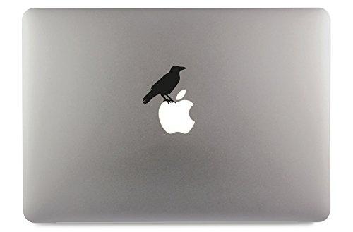 Krähe Crow Aufkleber Skin Decal Sticker geeignet für Apple MacBook und alle Anderen Laptop und Notebooks (13