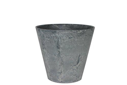 Ivyline 102152 Artstone Pot de Fleurs Gris Claire 27 x 24 cm