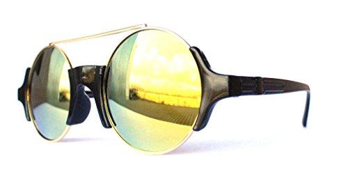 Trend 2017 2018 Mode neue Kollektion Style Fashion klassische Sonnenbrille Sommerbrille Sonnenbrillen mit UV Schutz Unisex Gelb sunrise