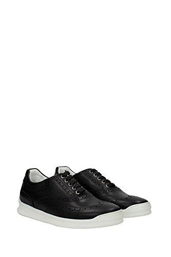 3SN101VPU900 Christian Dior Sneakers Homme Cuir Noir Noir