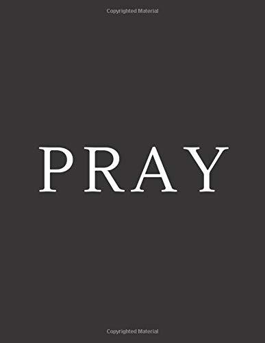 Pray: A Decorative Book | Perfect for Coffee Tables, Bookshelves, Interior Design & Home Staging (Pray Book Set – Black)