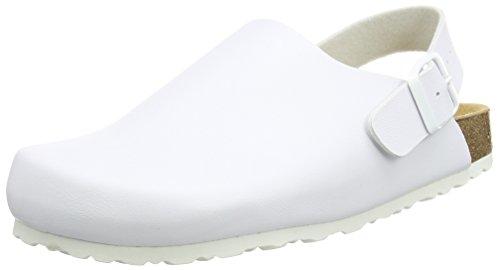 Lico Bioline Clog Classic, Sabot Bambino Bianco (Bianco (Weiss))
