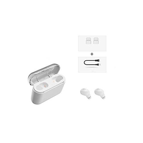 gyx Bluetooth Kopfhörer kabellos Bluetooth Kopfhörer Invisible Mini Mit Ladekiste Binaurale Kopfhörer Bluetooth (Tv-android-box Voll Geladen)