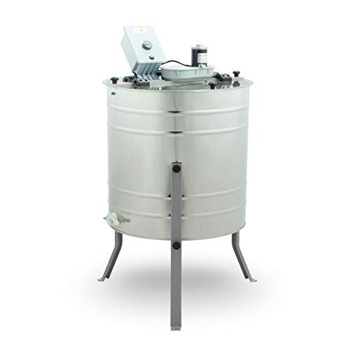 LYSON 4-Waben Honigschleuder Ø500 elektrisch, DNM, LN, Zander, hergestellt in EU