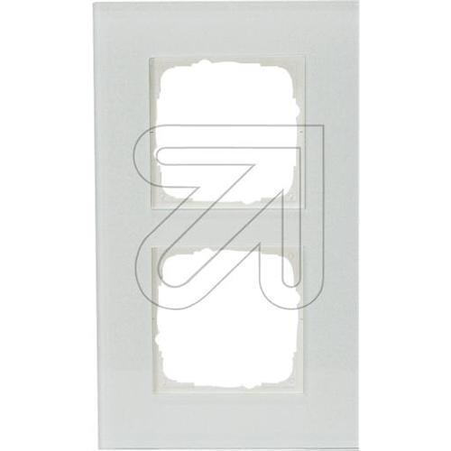 KLEIN 55 Glasrahmen 2-fach K552512/99 reinweiß 5