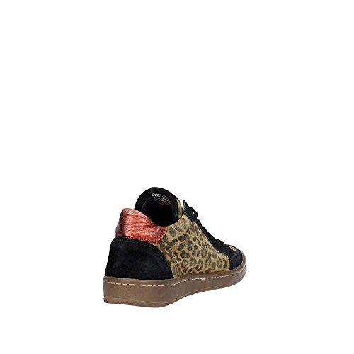 Serafini CAMP.52 Sneakers Femme Suède Tacheté Tacheté