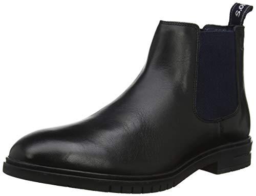 s.Oliver Herren 5-5-15302-23 Desert Boots, Schwarz (Black 001), 43 EU