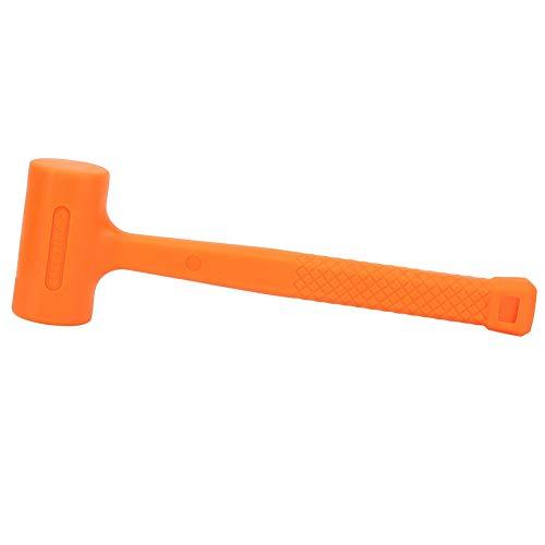 Praktische PVC Gummi Soft Face Dead Blow Hammer Nicht elastische Gummihammer für Bodenfliese Marbe Installation Möbel Design(0.5LB) -