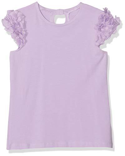 NAME IT Mädchen Nkfhumera Capsl Top T-Shirt, Violett (Lavendel Lavendula), 146 (Herstellergröße: 146-152) -