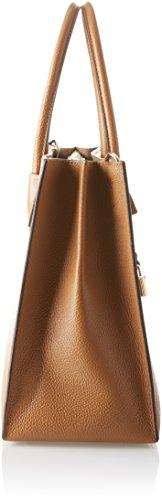 Michael Kors Mercer, Borsa Tote Donna, Marrone (Acorn), 12.7x21.6x23.2 Centimeters (W x H x L)
