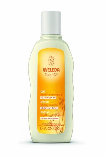 WELEDA Haar Hafer Aufbau-Shampoo (1 x 190 ml) - Haarshampoo, Haarpflege