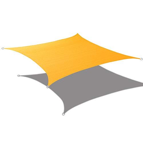 Alion Home Sonnensegel, rechteckig, wasserfest, Polyester, gewebt, 240 x 4,5 m 9.5' x 15' Mango Yellow -