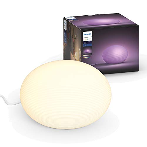 Philips Hue Flourish White And Color Ambiance Lampada da Tavolo LED Connessa...