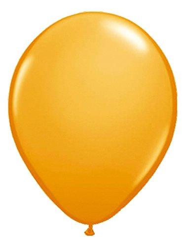 Folat Luftballons Ballons Party-Deko 50 Stück orange 30cm Einheitsgröße