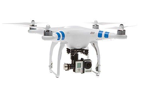 DJI Phantom 2, Drone Quadricottero, 2.4GHz, Edition con Giunto Cardanico a 3 Assi Zenmuse H3-3D