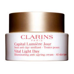 Clarins - Capital Lumière Jour - Soin anti-âge unifiant - 50 ml- (for multi-item order extra postage cost will be reimbursed)