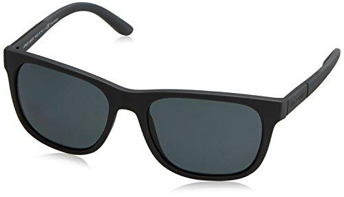 Giorgio Armani Unisex AR8037 Sonnenbrille, Schwarz (Black 533081), One size (Herstellergröße: 56)
