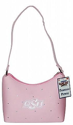 NCAA Oklahoma State Cowboys Damen Mini Sattel Geldbörse mit Strass, Pink