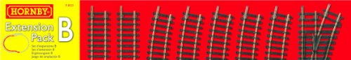 Hornby R8222 00 Gauge Track Extension Pack B for sale  Delivered anywhere in UK