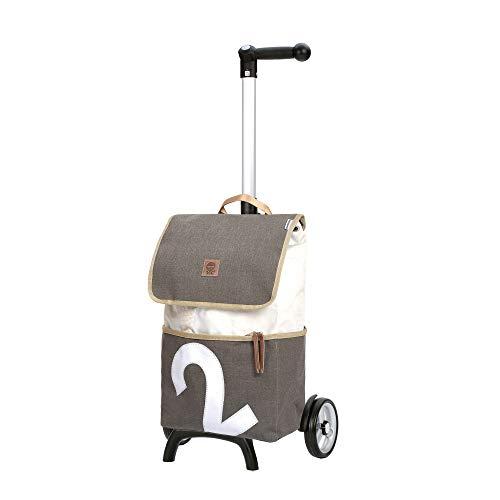 Andersen Shopper Unus Fun und 50 Liter Tasche 360° Mole 2 grau