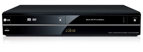 LG RCT699H DVD-Rekorder mit VHS-Player (HDMI, USB 2.0, DivX) schwarz (Dvd-recorder Und Vcr Combo)