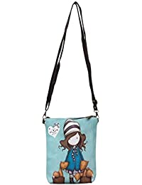 High Valley Fashion Blue Croix Sling Bag (N1438) (Buy One Get One Free)