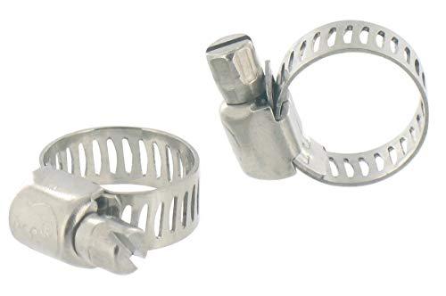 Cap Vert - Collier à bande inox / 5 - 8 - 32 - 52