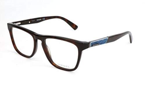 Diesel Herren DL5249 052-52-17-145 Brillengestelle, Braun, 52