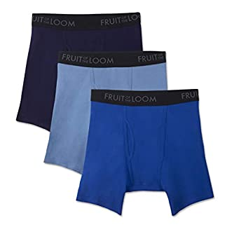 Fruit of the Loom de Hombre Transpirable Boxer Brief (Pack de 3)