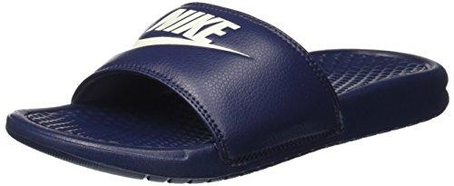 Nike Benassi Jdi, Herren Flip Flop, Blau (Midnight Navy/Windchill), 46 EU