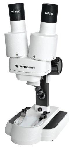 Bresser 3D Stereo Mikroskop Biolux ICD 20x mit 20x...