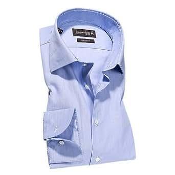 Jacques Britt Herren Businesshemd Gr. XX-Large, Blau - Blau