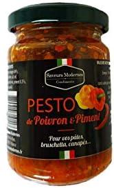 Pesto de Poivron et Piment 130gr