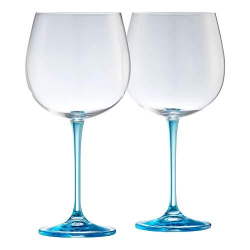 Galway Gin & Tonic Kristall-Set, Blau, 1 Paar Galway Crystal Set