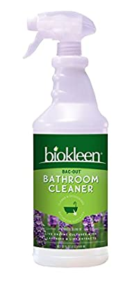 Biokleen Bac Out Bathroom Cleaner, Lavender-Lime, 32 Ounces (Pack of 6)