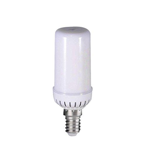 Jaminy LED Flamme Feuer Lichteffekt simuliert Natur Mais Zwiebeln Dekoration Lampe (E14)