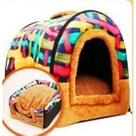 ZPP-Miglior lettiera di gatto autunno/inverno casa del cane cane divano in lavabili, i cani di media e grossa taglia forniture pet,S piccoli,1