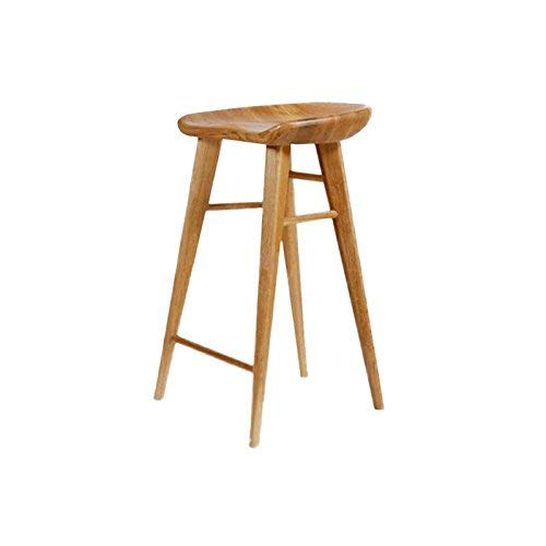 small seat Stilvolle Stuhl/Hocker, Home Stuhl/Hocker, Massivholz Freizeit Barhocker,42 * 32 * 65 cm,* 01