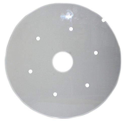 budawi® - Plexiglaseinlage Ø 22 cm für Zimmerbrunnenschalen, Einlage-Plexiglasscheibe