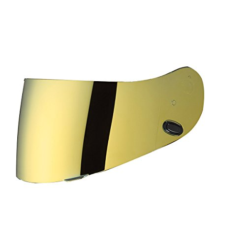 HJC hj-17Pinlock bereit RST Shield is-max BT Street Bike Racing Motorrad Helm Zubehör-Gold/Eine Größe passend für die meisten (Hjc Helm Street Bike)
