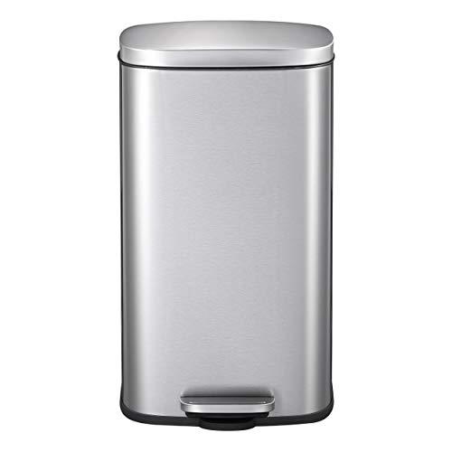 MARIHOME Contenedor Reciclaje | Cubo Basura 30L Tapa