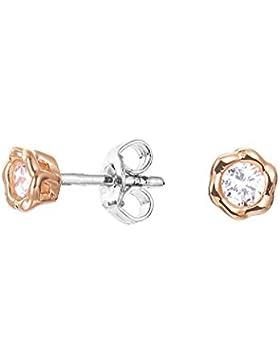 Esprit Petite Ohrringe Silber vergoldet Roségold mit Zirkonia ESER92699A000