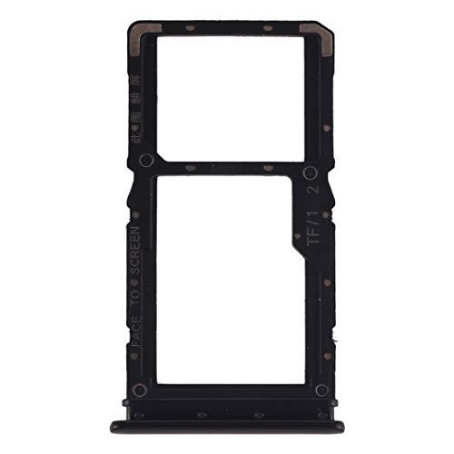 COMPATIBILE per XIAOMI REDMI NOTE 7' NERO' Try tray Vassoio alloggio porta scheda Dual SIM Card Sim 1 + SLOT SIM 2 o slitta per lettore Memoria Micro Sd
