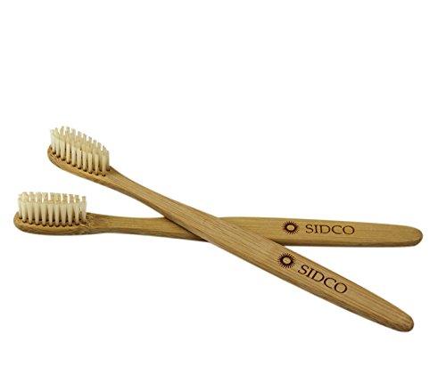 SIDCO Bambus Zahnbürste für Erwachsene