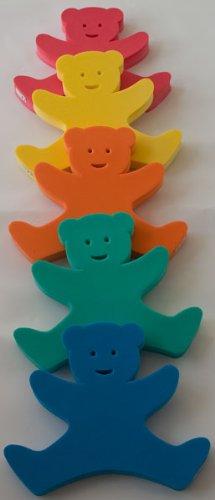 Preisvergleich Produktbild Auftriebshilfe Schwimmbrett Schwimmspaß Bär Bear 340x290x38mm ROT NEU&Original von Babysplash