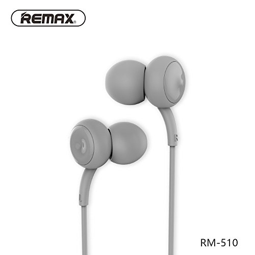 JANLY Oreillettes stéréo sans fil Bluetooth casques écouteurs in-ear (Gris)
