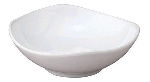 HIC t-213Porzellan Soja Sauce Dish, weiß, 3–1/10,2cm White Porcelain Side Plate