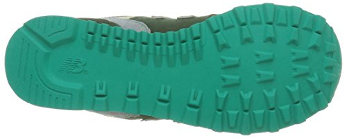 New Balance NBWL574MON Sneaker, Donna Dark Green