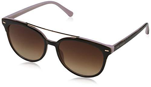 Ted Baker Damen Solene Sonnenbrille, (Torf Pink/Brown), 54.0